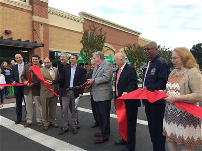 Marketplace ribbon cutting