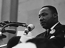 mlk speaking out