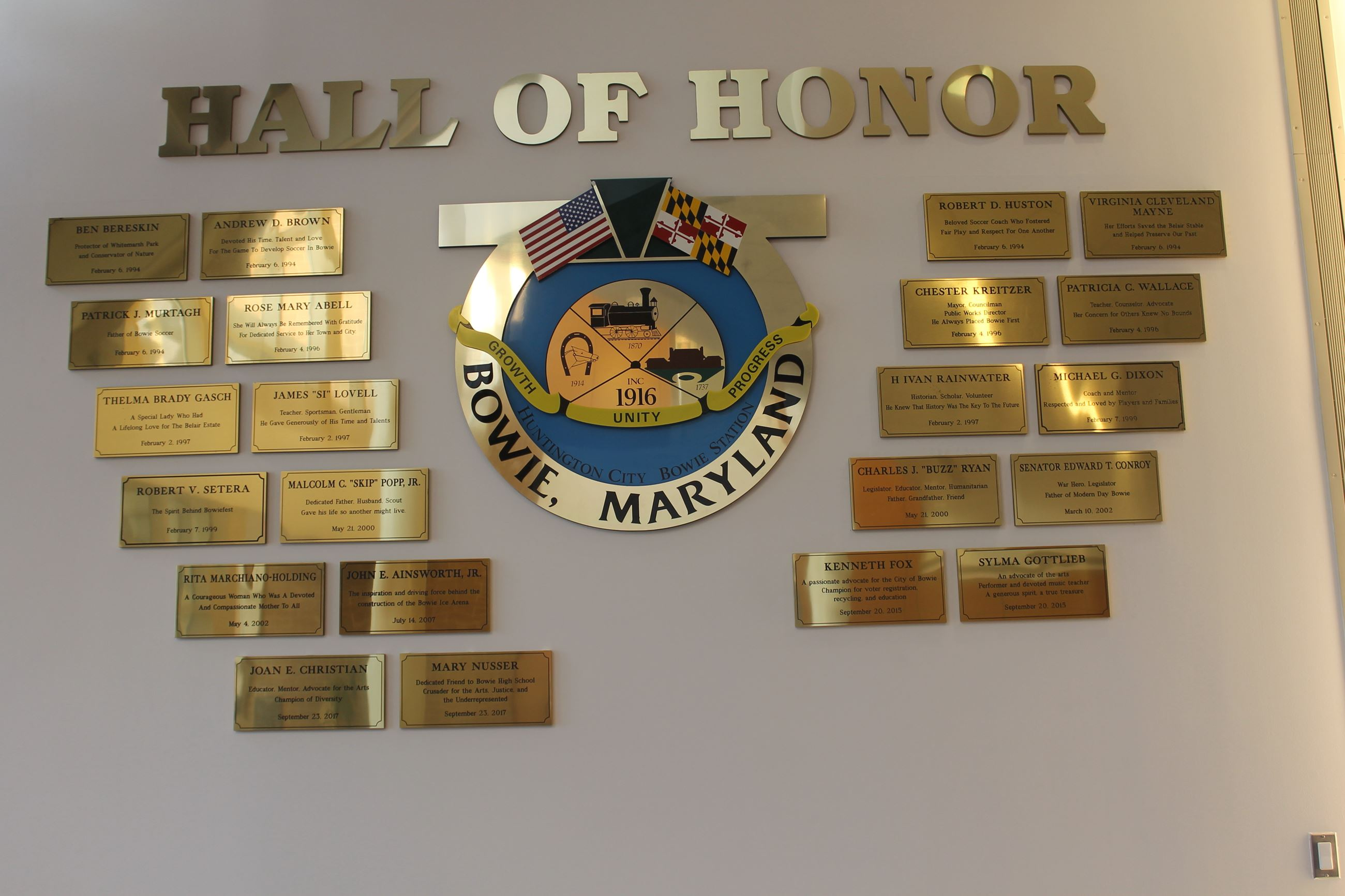 Hall of Honor 2017