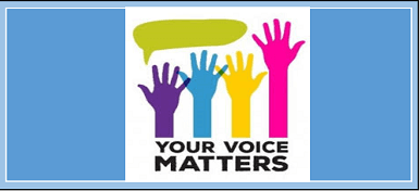 your voice matters home spotlight small