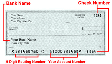 Indentifying Check Image