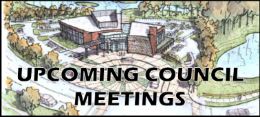 Upcoming Council Meetings