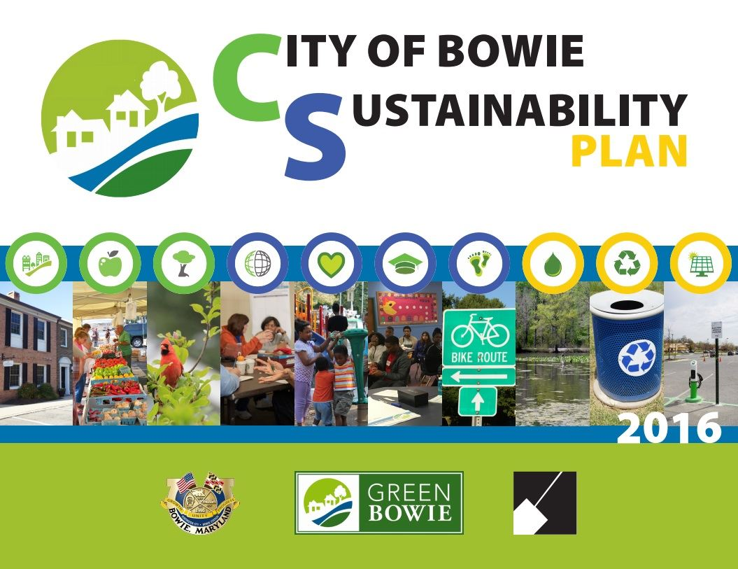 City of Bowie Sustainabililty Cover