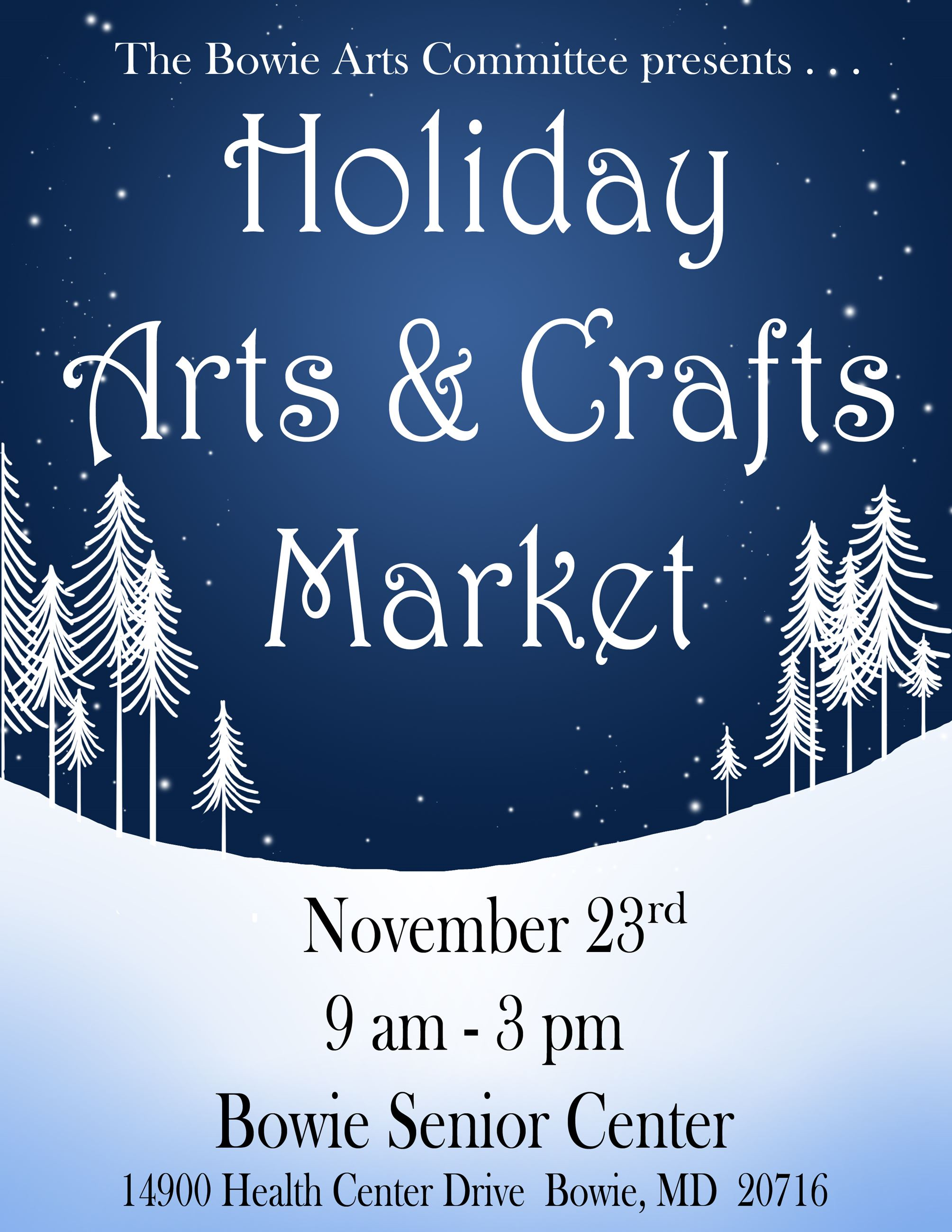 Holiday Arts and Crafts Market 2019