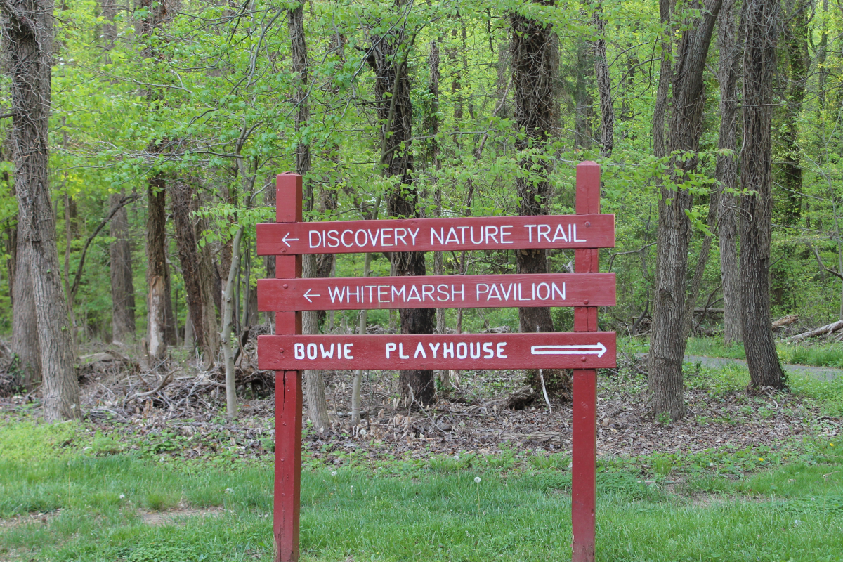 Whitemarsh Park sign smaller size