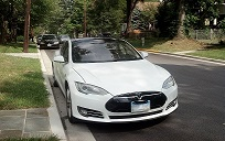 All Electric Tesla Vehicle